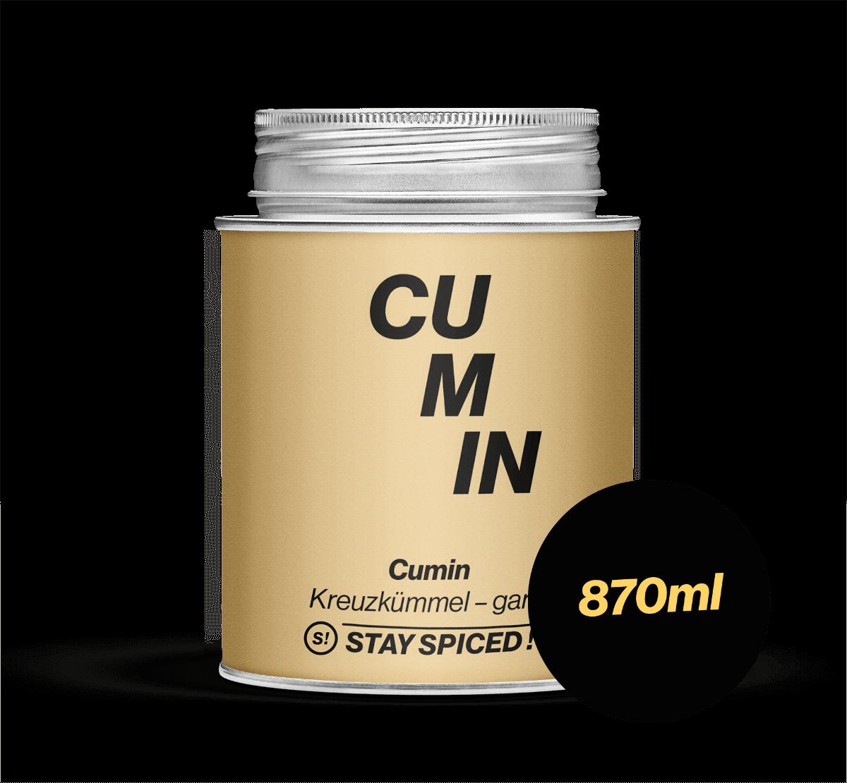 Cumin - Kreuzkümmel - ganz, 870 ml Schraubdose 870ml Schraubdose