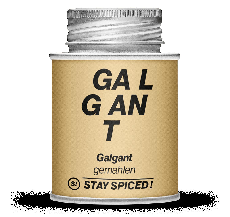 Galgant - Fieberwurzel - gemahlen, 170ml Schraubdose 170ml Schraubdose