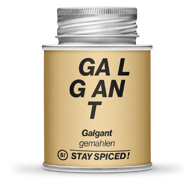 Galgant - Fieberwurzel - gemahlen