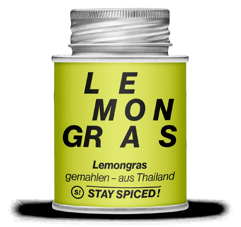 Lemongras - Zitronengras - gemahlen - thailändisch