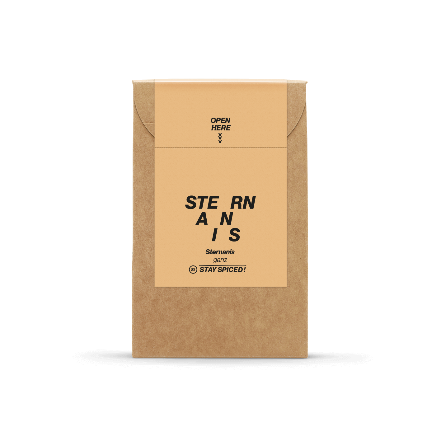Sternanis ganz, gesiebt und handverlesen - Vietnam - 35g Karton Karton