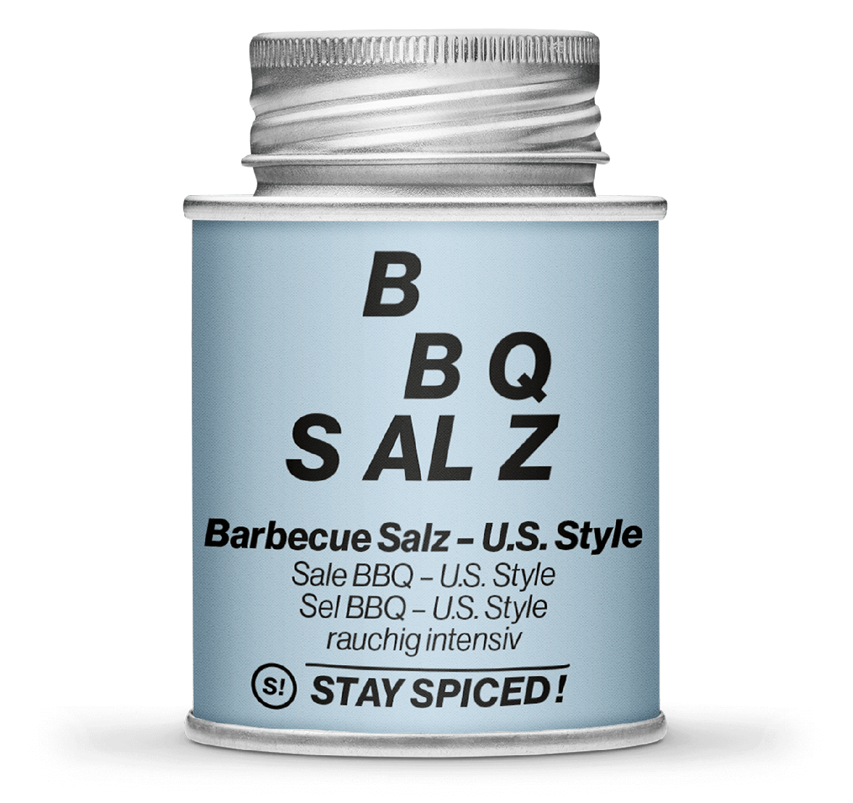US-Style BBQ Salz, rauchig intensiv