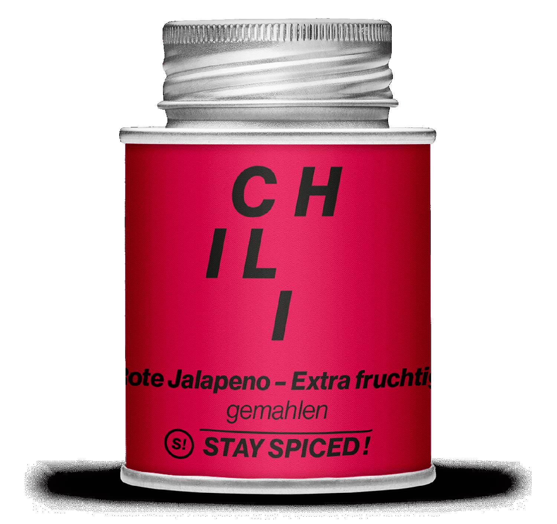 Jalapeno Chili, rot gemahlen - Extra Fruchtig!