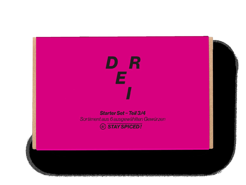 Starter-Box N°3 aus 6 ausgewählten Produkten (Advanced Starter Box)