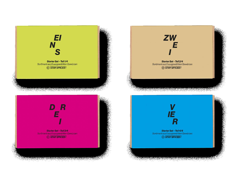 Starter-Box inkl. 24 ausgewählten Gewürzen (Home Chef Starter Set)