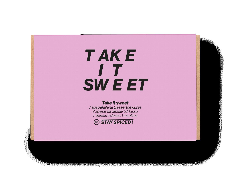 "Geschenkbox ""Take it sweet"" - LIMITED EDITION"