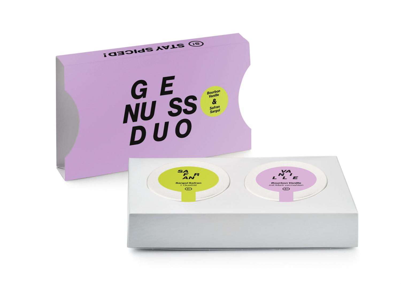 Genussduo - Bourbon Vanille 5g & Safran Sargol 1g