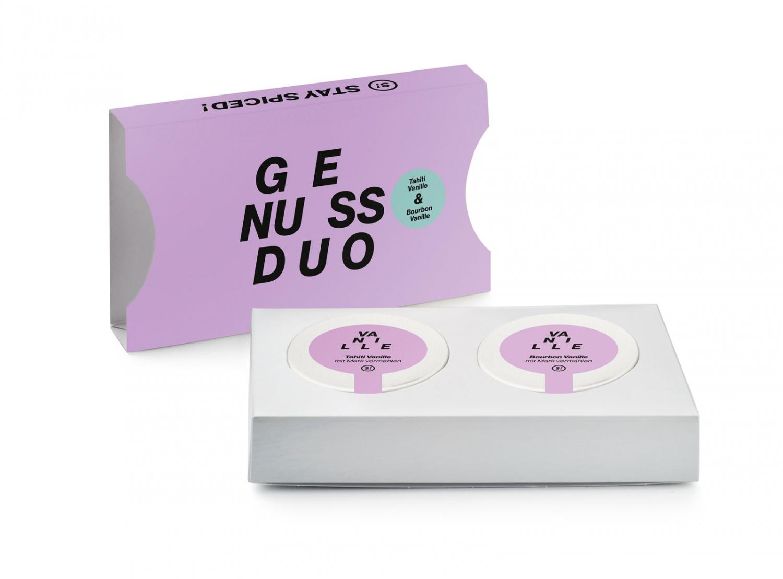 Genussduo - Tahiti Vanille 5g & Bourbon Vanille 5g