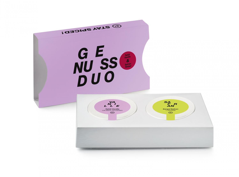 Genussduo - Tahiti Vanille 5g & Safran Sargol 1g