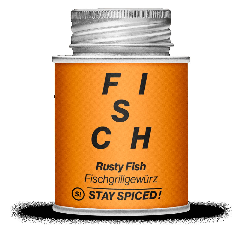 Rusty Fish - Grillgewürz 170ml Schraubdose 170ml Schraubdose