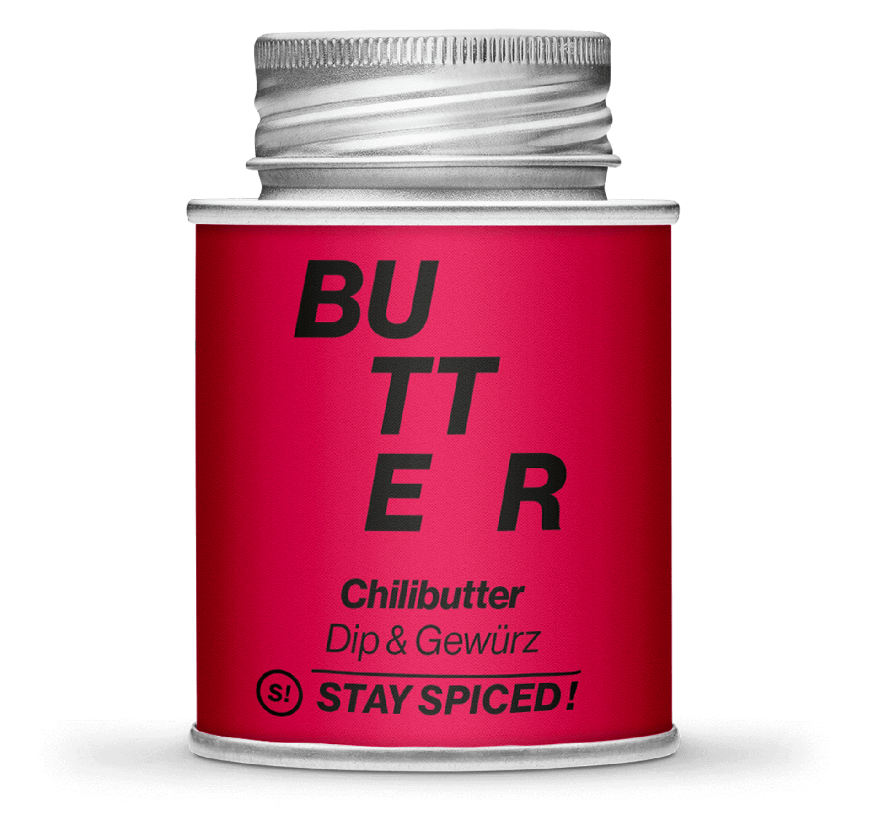 Chilibutter - Dip & Streugewürz