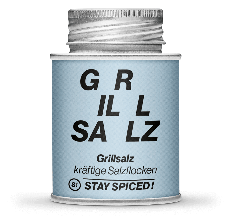 Grillsalz - kräftige Salzflocken