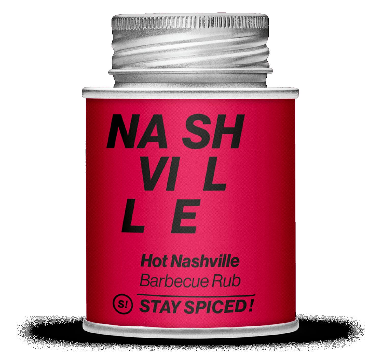 Hot Nashville BBQ - Barbecue Rub