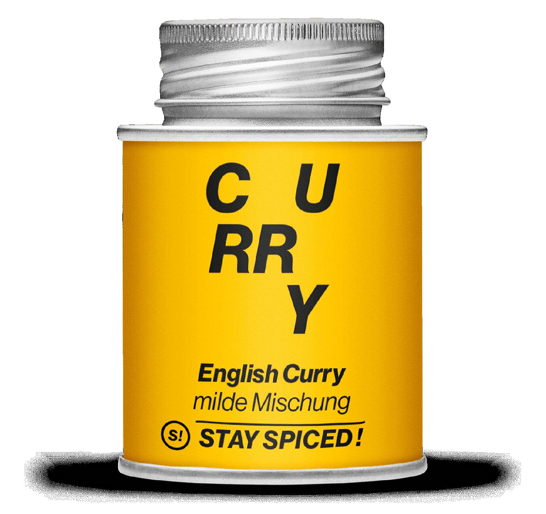 English Curry, feine milde Mischung, 170ml Schraubdose 170ml Schraubdose
