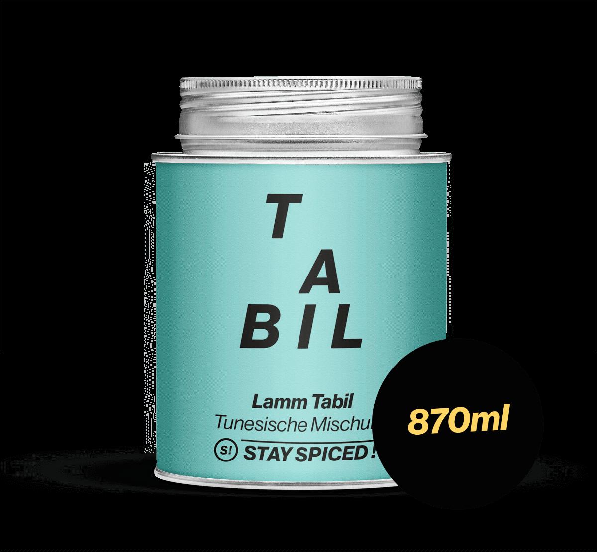 Lammgewürz ''tabil' - tunesisch, 870 ml Schraubdose 870ml Schraubdose