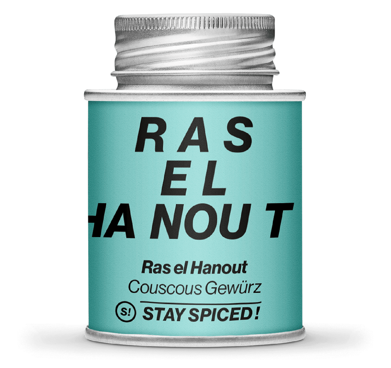 Ras el Hanout - Cous Cous und Gemüse, 170ml Schraubdose 170ml Schraubdose