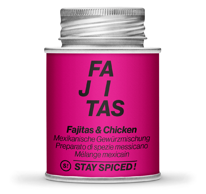 Fajitas & Hähnchen - mexikanisch - Gewürz