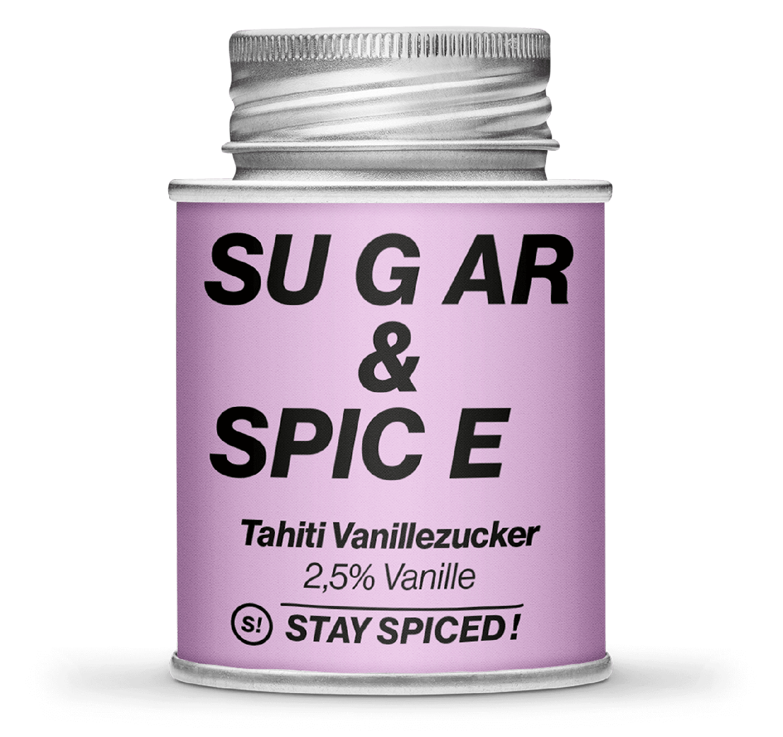 Sugar & Spice - Tahiti Vanille (2,5% Vanille),