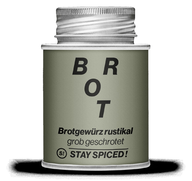 """Brotgewürz """"rustikal"""" grob gemahlen mit Schwarzkümmel"""