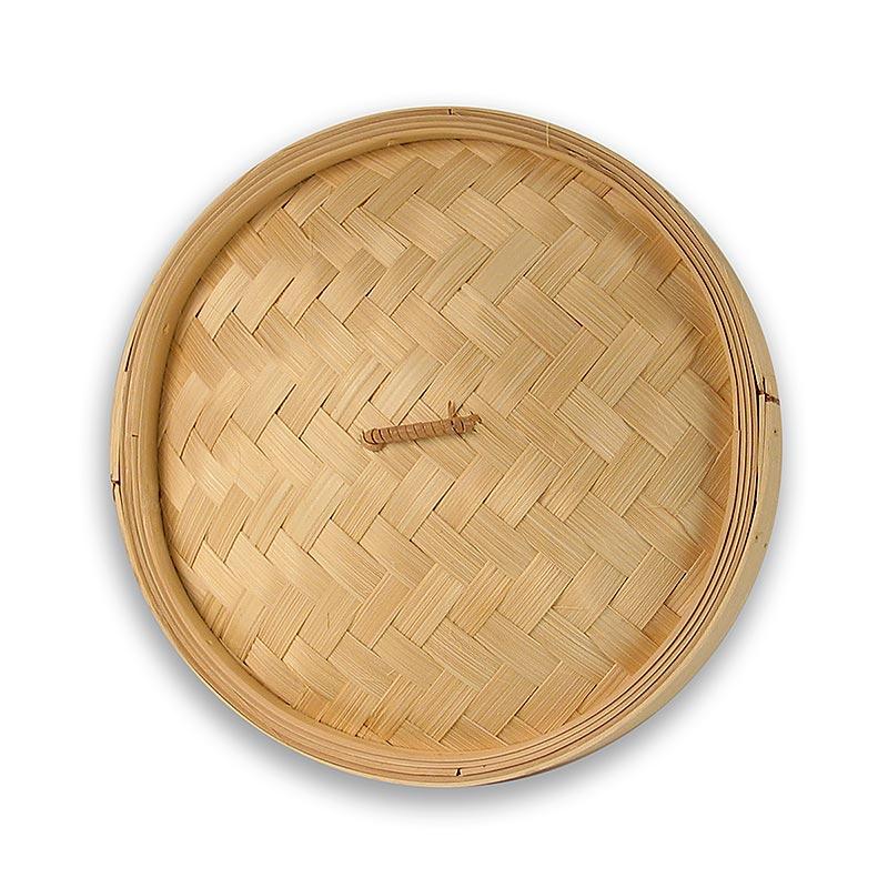 Deckel für Bambusdämpfer, ø 26cm außen, ø 24cm innen, 10 inch, 1 St LOSE