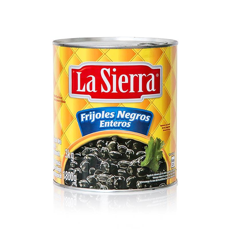 Schwarze Mexico Bohnen, vorgegart, 3 kg DOSE