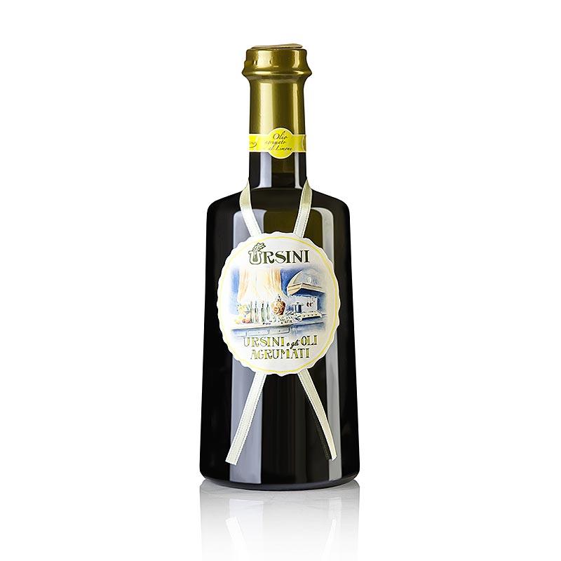 Natives Olivenöl Extra, Ursini mit Zitrone aromatisiert (agrumato al Limone), 500 ml FLASCHE