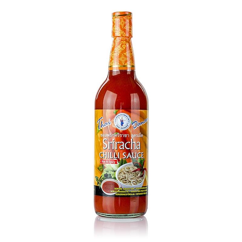 Chili-Sauce - Sriracha, sehr scharf, Thai Dancer, 730 ml FLASCHE