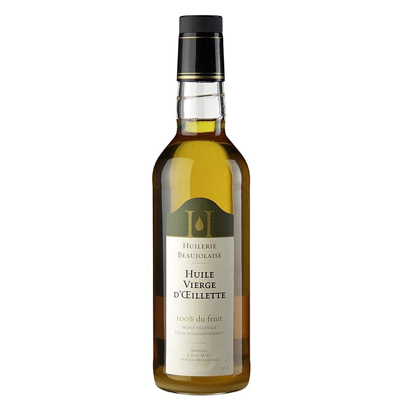 Huilerie Beaujolaise Mohnöl - Oeillette, Auslese Virgin, 500 ml FLASCHE