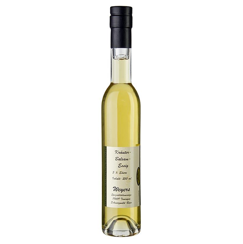 Weyers Kräuter-Balsamessig, 5% Säure, 250 ml FLASCHE