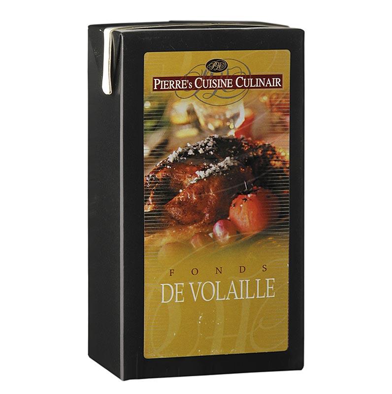 Pierre's Cuisine Culinair Geflügelfond - De Volaille, küchenfertig, 1 l TETRAPACK
