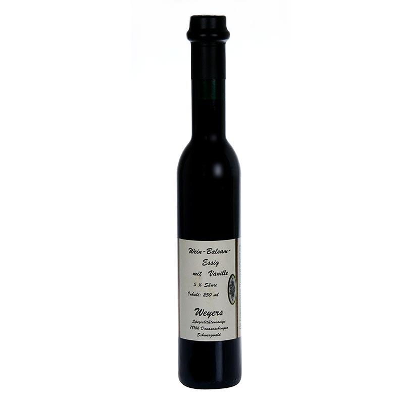 Weyers Vanille-Essig, 6% Säure, 250 ml FLASCHE