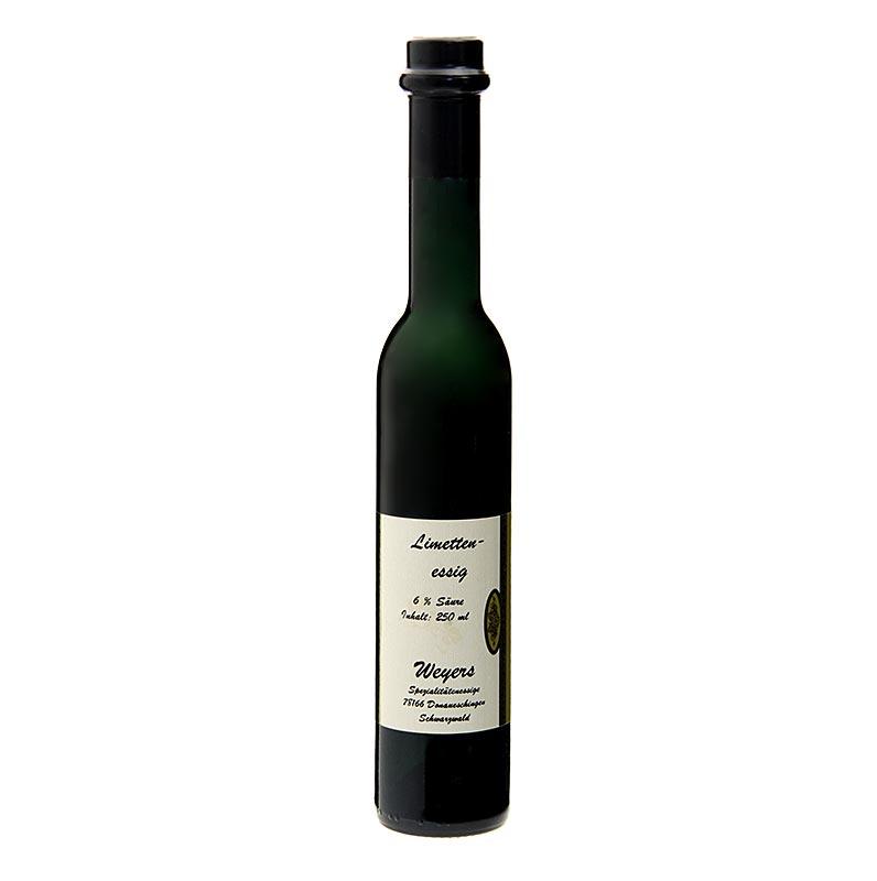Weyers Limetten-Essig, 6% Säure, 250 ml FLASCHE