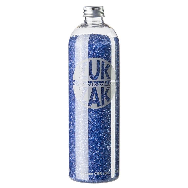Farbiger Kristallzucker - ZUK ZAK, blau, 450g PE-FLASCHE
