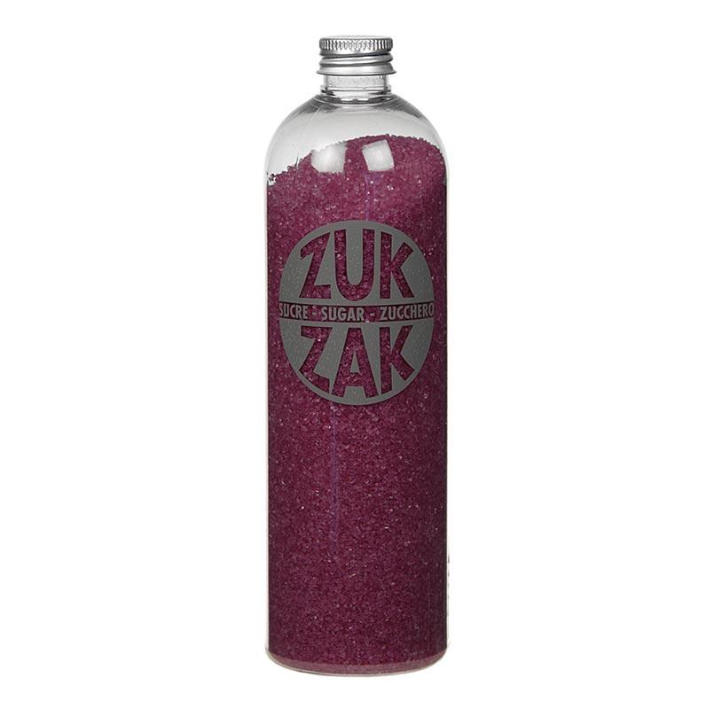 Farbiger Kristallzucker - ZUK ZAK, purple, 450g PE-FLASCHE
