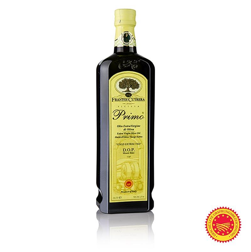 """Natives Olivenöl Extra, Frantoi Cutrera """"Primo DOP/g.U."""", 100% Tonda Iblea, 750 ml FLASCHE"""