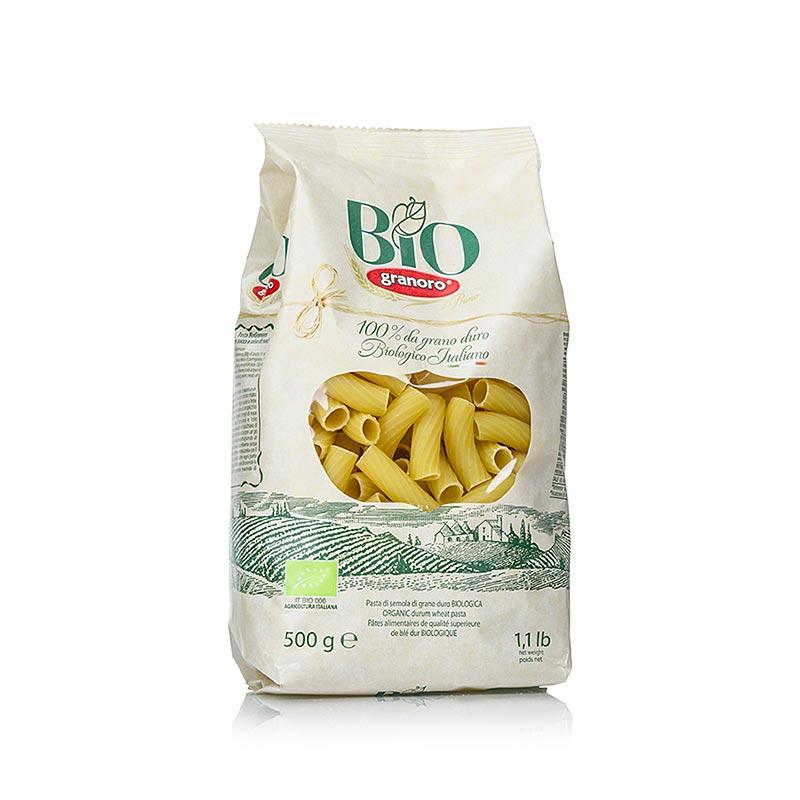 Pasta Granoro, Elicoidali (Rigatoni) No.23, BIO, 500 g BEUTEL