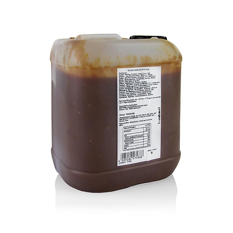 Stembergs Currywurstsauce, 5 l PE-KANIST.