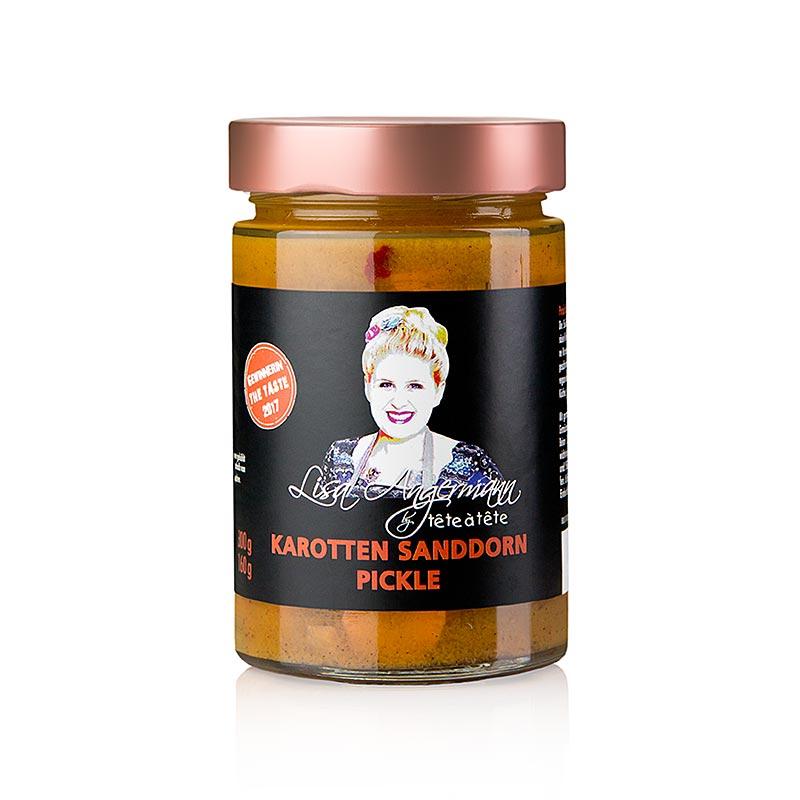 Karotten - Sanddorn Pickle, by Lisa Angermann, 300 g GLAS