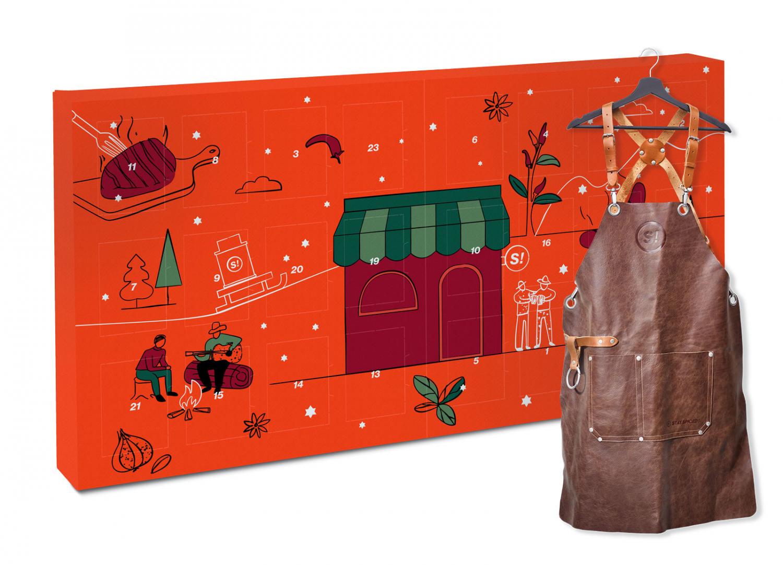 STAY SPICED - Geschenkset - BBQ & Grill Adventskalender inkl. Grillschürze