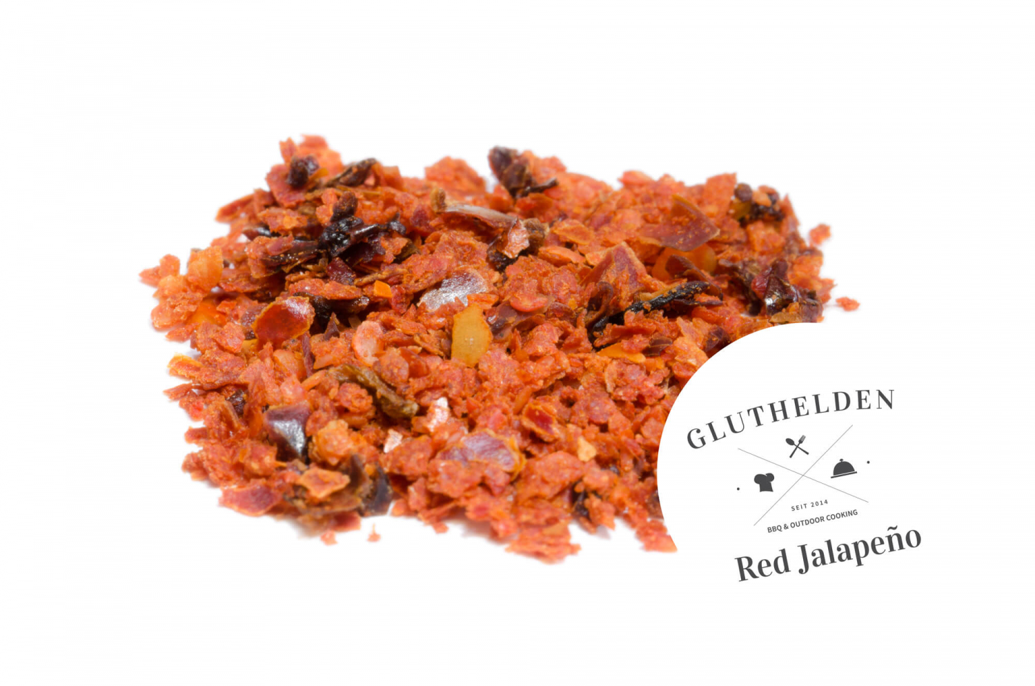 Gluthelden, Red Jalapeno - No Smoke - Extra Sweet