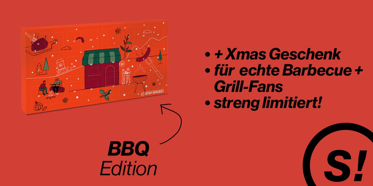 Adventskalender - STAY SPICED ! - Grill & BBQ 2021