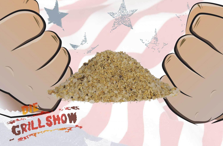 Johnnys, Die Grillshow - Rauchsalz Hickory
