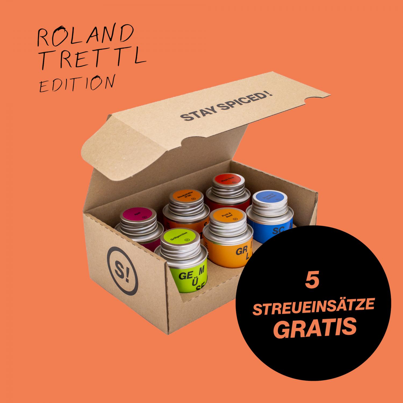 Roland Trettl's 6er Grillbox im STAY SPICED ! Karton