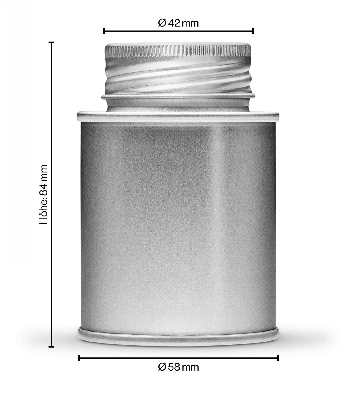 Kardamom in der Hülse gemahlen, 170ml Schraubdose 170ml Schraubdose